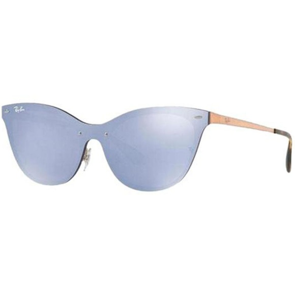aaf97c770 Ray-Ban Accessories | Rayban Cat Eye Style Violet Mirrored Lens ...